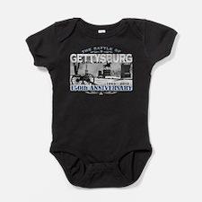 150 Anniversary Gettysburg Battle Baby Bodysuit