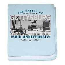 150 Anniversary Gettysburg Battle baby blanket