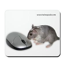 Mouse & Gerbil Mousepad