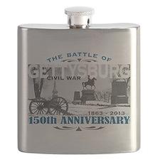150 Anniversary Gettysburg Battle Flask