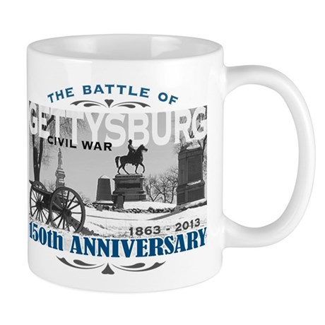 150 Anniversary Gettysburg Battle Mug