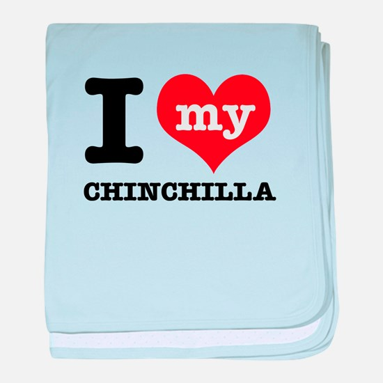 I love my Chinchilla baby blanket