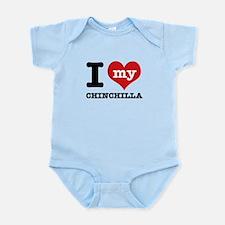 I love my Chinchilla Infant Bodysuit