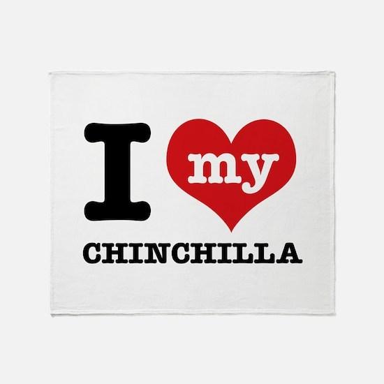 I love my Chinchilla Throw Blanket