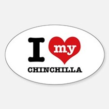 I love my Chinchilla Decal