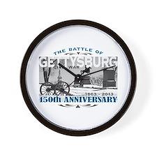 150 Anniversary Gettysburg Battle Wall Clock
