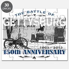 150 Anniversary Gettysburg Battle Puzzle