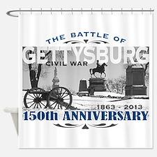 150 Anniversary Gettysburg Battle Shower Curtain