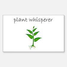 plant whisperer.bmp Decal