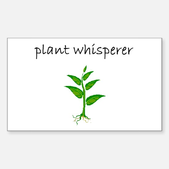 plant whisperer.bmp Decal