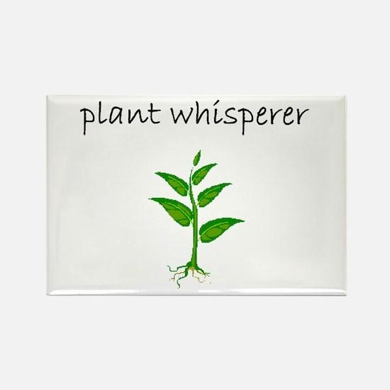 plant whisperer.bmp Rectangle Magnet