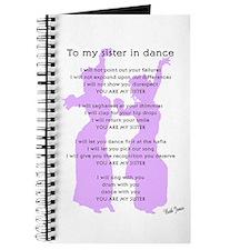 Bellydance Sister Poem Journal