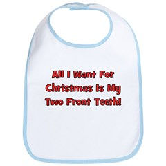 All I Want For Christmas Bib