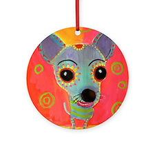 Little Chico Ornament (Round)
