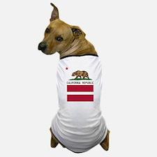 California Flag Gay Pride Equal Rights Dog T-Shirt
