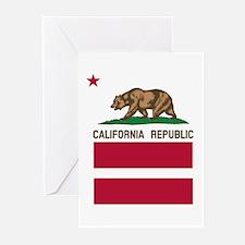 California Flag Gay Pride Equal Rights Greeting Ca