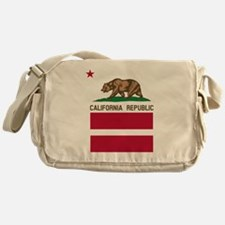 California Flag Gay Pride Equal Rights Messenger B