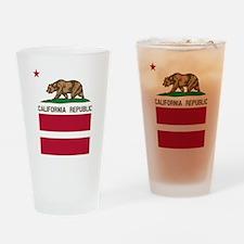 California Flag Gay Pride Equal Rights Drinking Gl