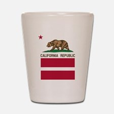 California Flag Gay Pride Equal Rights Shot Glass