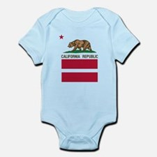 California Flag Gay Pride Equal Rights Body Suit