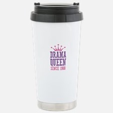 Drama Queen Since 1968 Stainless Steel Travel Mug