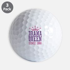Drama Queen Since 1968 Golf Ball
