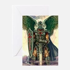 Archangel Uriel Greeting Card
