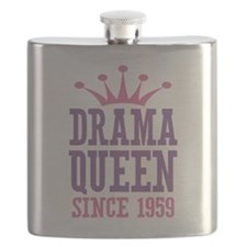 Drama Queen Since 1959 Flask