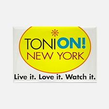 Toni On Logo Rectangle Magnet