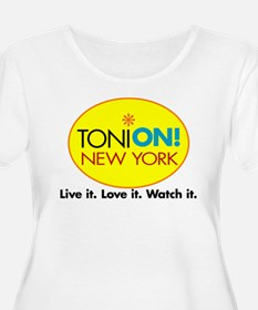 Toni On Logo Plus Size T-Shirt