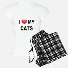 I LOVE MY CATS Pajamas