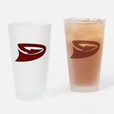 Unique Logo backs Drinking Glass