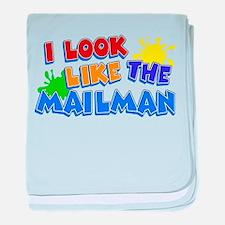 Mailman's Kid baby blanket