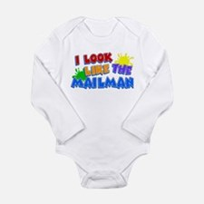 Mailman's Kid Long Sleeve Infant Bodysuit