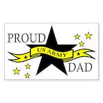Proud Army Dad Sticker (Rectangular