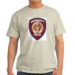 Texas A & M Police Ash Grey T-Shirt
