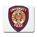 Texas A & M Police Mousepad