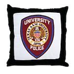 Texas A & M Police Throw Pillow