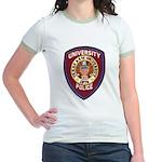 Texas A & M Police Jr. Ringer T-Shirt