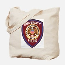 Texas A & M Police Tote Bag