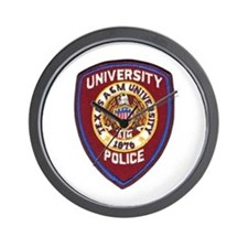 Texas A & M Police Wall Clock