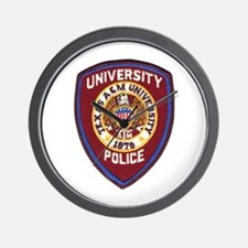 Texas A & M Police Wall Clock