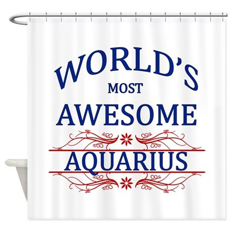 World's Most Awesome Cancer Shower Curtain