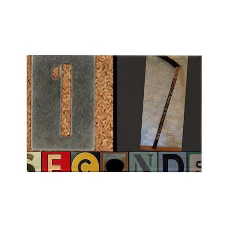 17 Seconds - Goal Rectangle Magnet