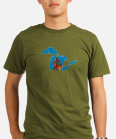 Great Lakes Michigan Harvest T-Shirt