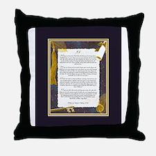 IF by Rudyard Kipling Throw Pillow