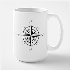Vintage Compass Mug