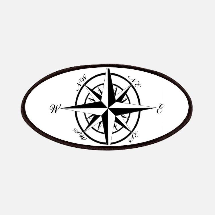 Vintage Compass Patches