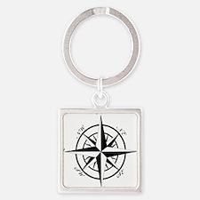 Vintage Compass Keychains