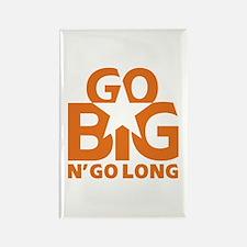 Go Big Rectangle Magnet